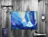Macbook Decal Skin | Paint Collection - Blue Paint2 - Case Kool