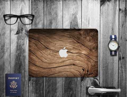 Macbook Decal Skin | Paint Collection - Wood - Case Kool