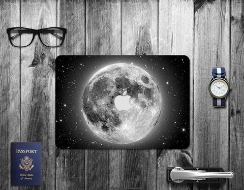 Macbook Decal Skin | Paint Collection - Grey Planet - Case Kool