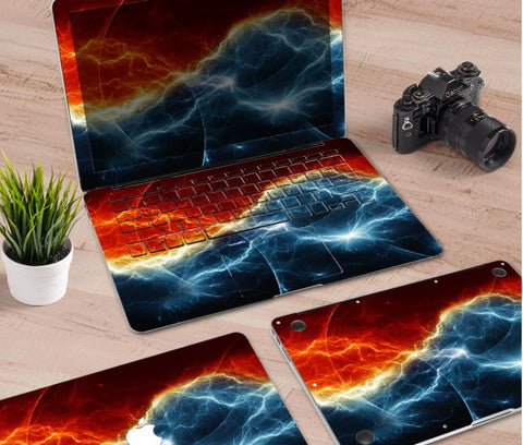 Macbook Decal Skin | Paint Collection - Thunder - Case Kool