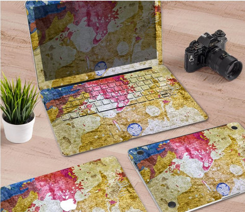 Macbook Decal Skin | Paint Collection - Ancient - Case Kool