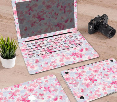 Macbook Decal Skin | Paint Collection - Cherry Blossoms2 - Case Kool