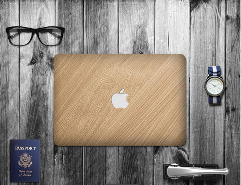 Macbook Decal Skin | Paint Collection - Gold Stripe - Case Kool