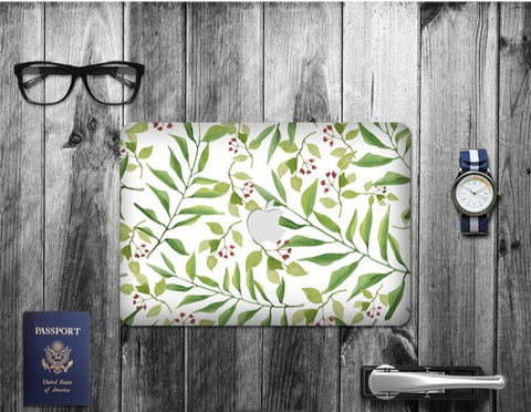 Macbook Decal Skin | Paint Collection - Leaf2 - Case Kool