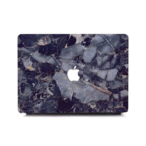 Macbook Case | Marble Collection - Dark Marble - Case Kool