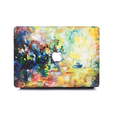 Macbook Case | Oil Painting Collection - Paint Dab - Case Kool