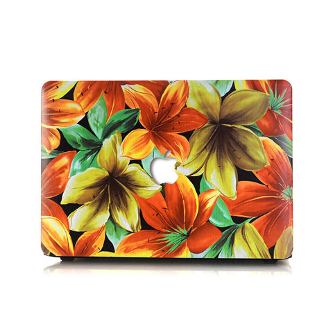 Macbook Case | Oil Painting Collection - Tropical Leaves - Case Kool