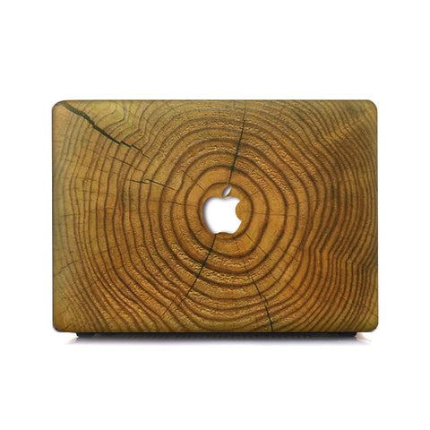 Macbook Case | Wood Collection - Cracked Wood - Case Kool