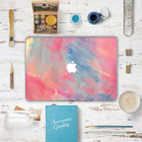 Macbook Decal Skin | Water Painting Collection - Pink Dream - Case Kool