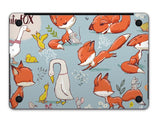 Macbook Decal Skin | Paint Collection - Cartoon Fox - Case Kool