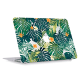 Macbook Case with Keyboard Cover Package | Floral Collection - Hawaiian Tropical Palm Leaves - Case Kool