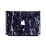 Macbook Case | Marble Collection - Silk Dark Black Marble - Case Kool