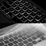 0.1mm Seemless Ultra-Thin Keyboard Cover - Case Kool