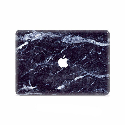 Macbook Case | Marble Collection - Black White Marble - Case Kool