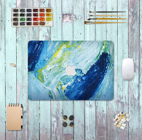 Macbook Decal Skin | Paint Collection - Ocean - Case Kool