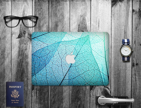 Macbook Decal Skin | Floral Collection - Leaf - Case Kool