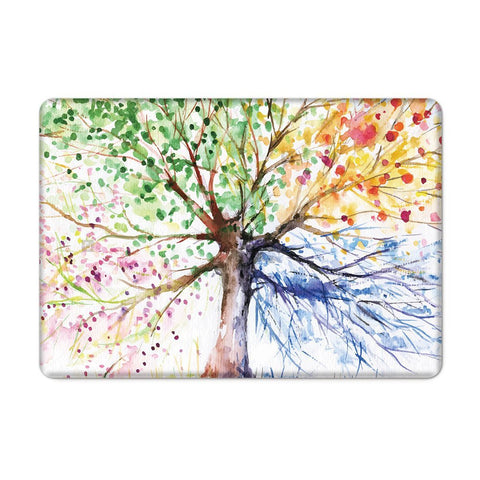 Macbook Case | Oil Painting Collection - Four Season Tree - Case Kool