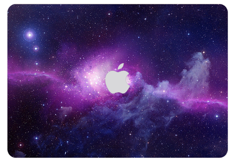 Macbook Decal Skin | Galaxy Space Collection - Purple - Case Kool