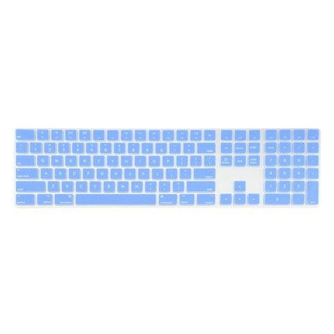 Magic Keyboard Cover with Numeric Keypad MQ052LL/A - Serenity Blue (US/CA keyboard) - Case Kool