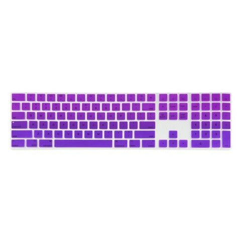 Magic Keyboard Cover with Numeric Keypad MQ052LL/A - Purple & Deep Purple (US/CA keyboard) - Case Kool