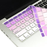 Macbook Ultra-Thin Keyboard Cover - Faded Ombre Purple (US/CA keyboard)
