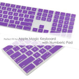 Magic Keyboard Cover with Numeric Keypad MQ052LL/A - Purple (US/CA keyboard) - Case Kool