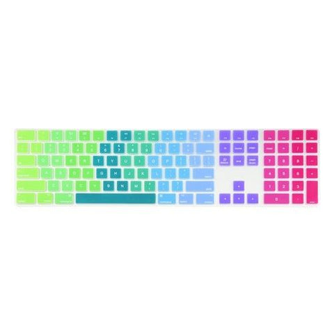 Magic Keyboard Cover with Numeric Keypad MQ052LL/A - Rainbow (US/CA keyboard) - Case Kool