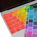 Macbook Ultra-Thin Keyboard Cover - Rainbow (US/CA keyboard)