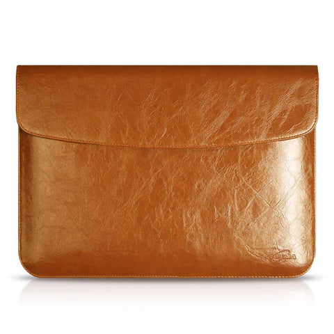 Macbook Sleeve | PU Leather Zipper Carrying Case - Case Kool