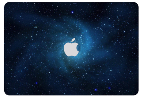Macbook Decal Skin | Galaxy Space Collection - Space - Case Kool
