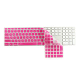 iMac Wired Keyboard Cover with Numeric Keypad MB110LL/B - Pink (US/CA keyboard) - Case Kool
