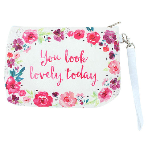 You Look Lovely Today Make Up Bag
