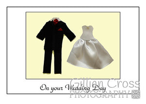 On Your Wedding Day Card - Rock Paper Bears