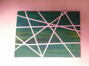Art Deco Geometric Wall Canvas