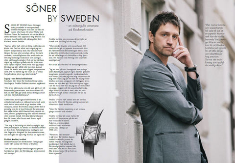 Men's watches - Swedish design and Japanese quality - Buy a Söner today