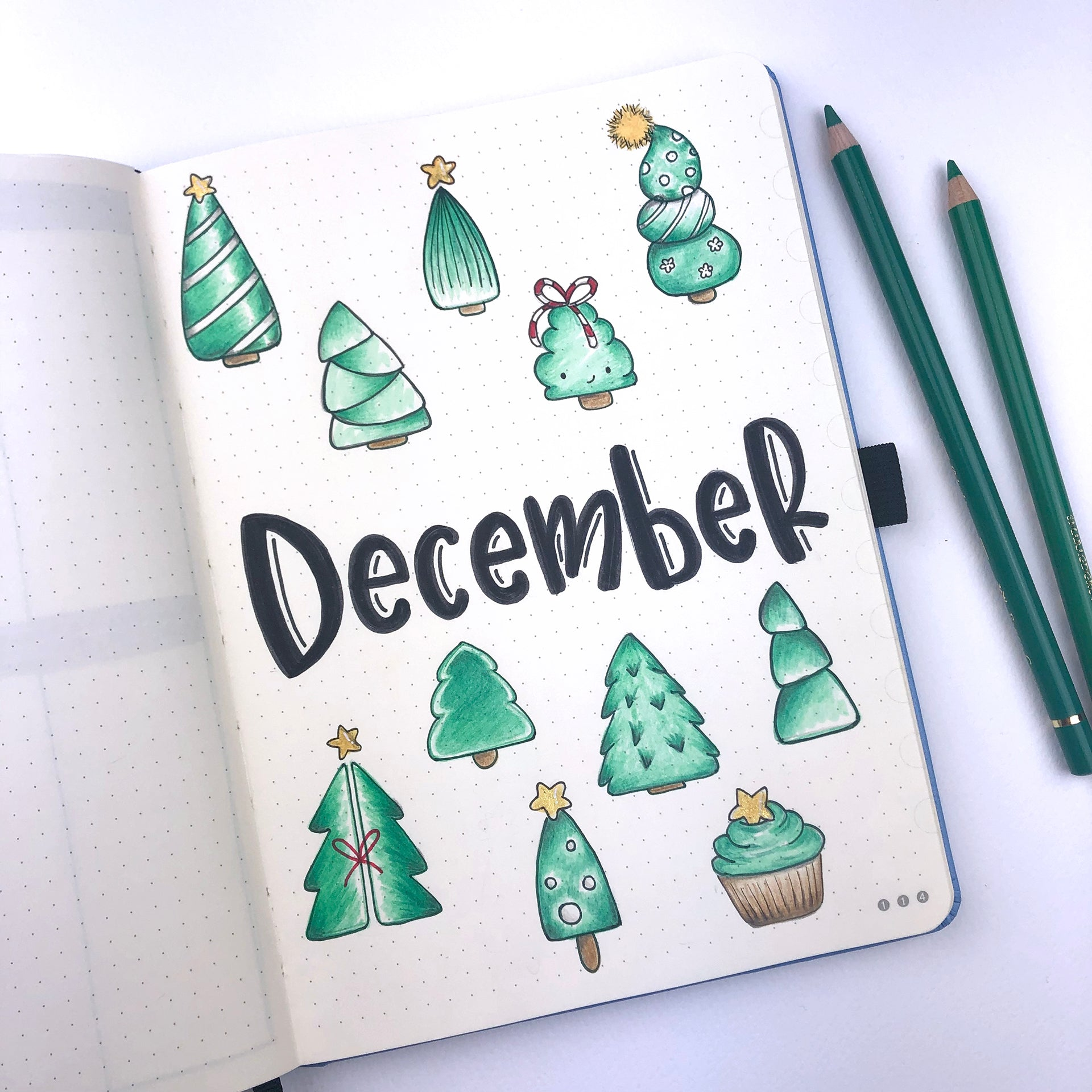 How to get your Dingbats* Notebook ready for Christmas – Dingbats ...