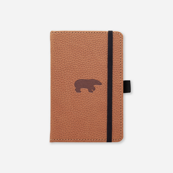 Dingbats* A6 Pocket Wildlife Brown Bear Notebook