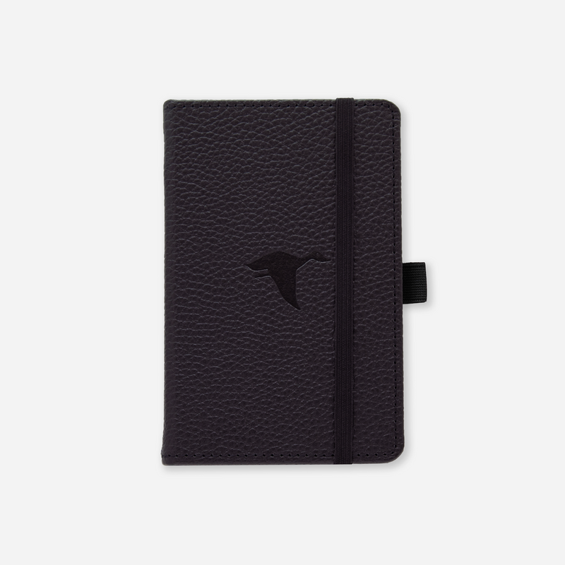 Dingbats* A6 Pocket Wildlife Black Duck Notebook