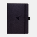 Dingbats* A5+ Wildlife Black Duck Notebook