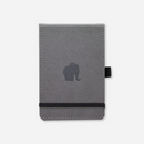 Dingbats* A6+ Wildlife Grey Elephant Reporter Notebook