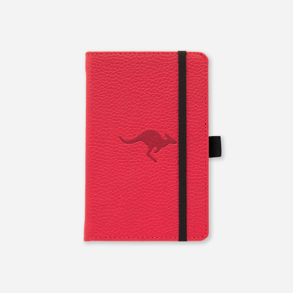 Dingbats* A6 Pocket Wildlife Red Kangaroo Notebook