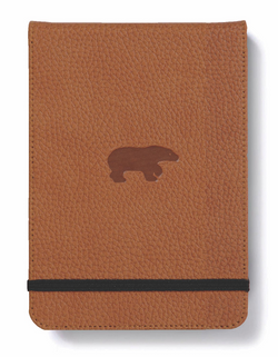 Dingbats* Wildlife Brown Bear Reporter Notebook - Dingbats* Notebooks® - UK & EU