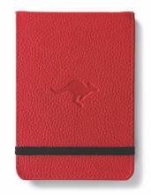 Load image into Gallery viewer, •Notebooks of beauty - hardcover bound with PU leather, radius corners, coloured endpapers, perforated 100gr/m² cream pages, inner pocket and elastic closure. Also includes a pen holder - perfect - Dingbats* Notebooks (journal, diary, bullet journal, office notebook, leather notebook)