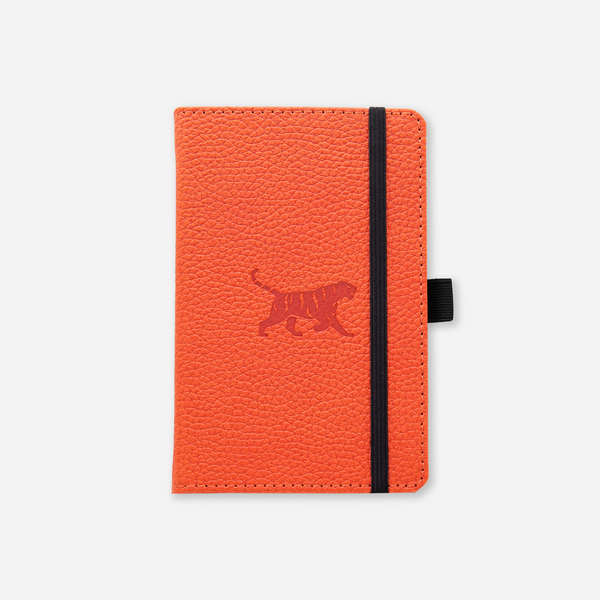 Dingbats* A6 Pocket Wildlife Orange Tiger Notebook