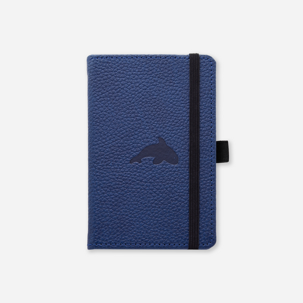Dingbats* A6 Pocket Wildlife Blue Whale Notebook