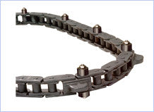 "6"" Heavy Duty Caterpillar Chain with Outboard Rollers, Part #16278WS"
