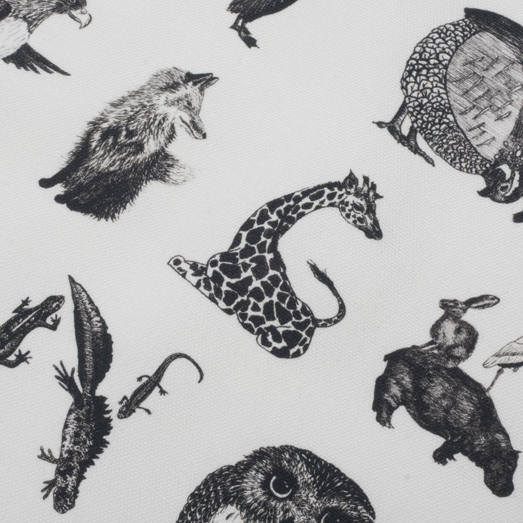 Animal Alphabet Tea Towel-Lucy Coggle