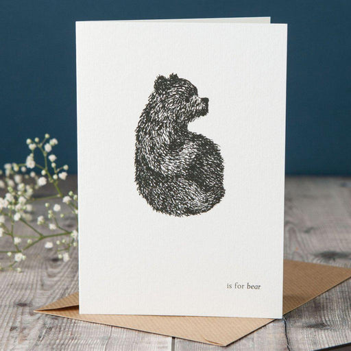 B is for Bear Card-Lucy Coggle