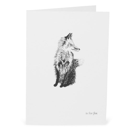 F is for Fox Card-Lucy Coggle