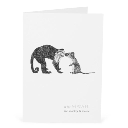 M is for Mwah! Card-Lucy Coggle